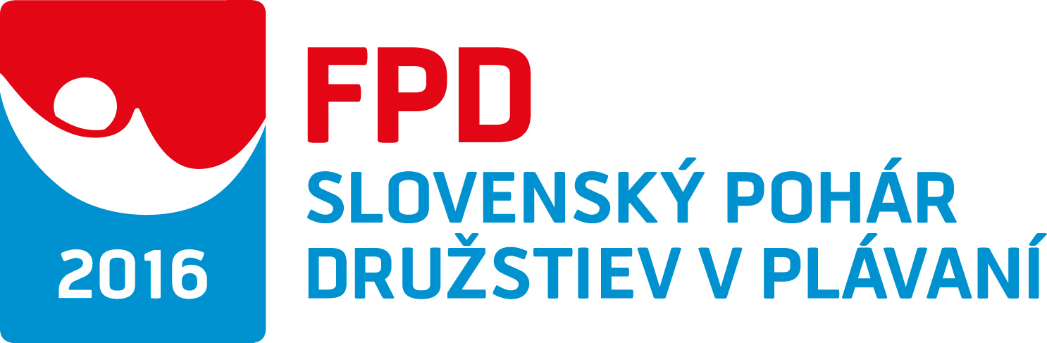 FPD Slovenský pohár v plávaní družstiev 2016